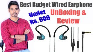 Best Budget Wired Earphones | Boult Audio Rhythm HD Around-Earphones With Mic Unboxing & Review