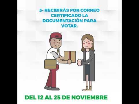 Cómo votar por correo en las elecciones andaluzas del 2 de diciembre