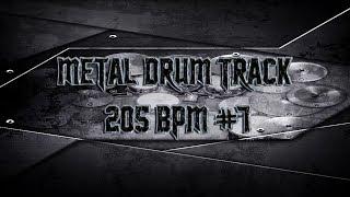 Saxon Style Metal Drum Track 205 BPM | Preset 2.0 (HQ,HD)