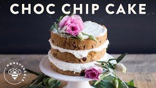 Chocolate Chip Cookie LAYER CAKE - Honeysuckle