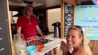 preview picture of video 'Surfing Monkey Shave Ice in Kihei MAUI'