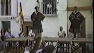 preview picture of video 'Jota de Calanda en Calles -  Año 1986'