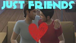 МЫ ПРОСТО ДРУЗЬЯ (Sims 4) #2