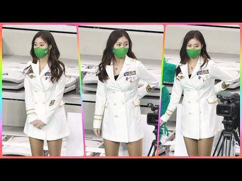 [4K] 치어리더 정다혜 직캠 (cheerleader) - MVP선수 시상식 대기 @남자농구(원주DB)/21…