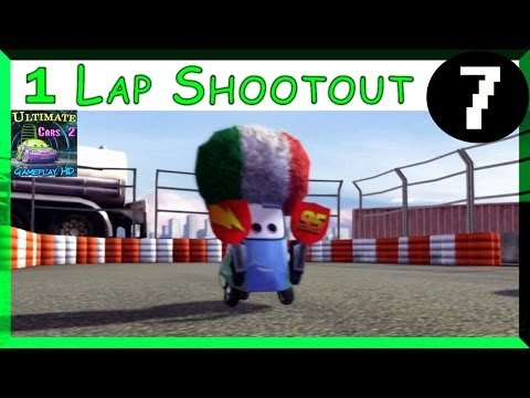 Team Lightning Guido Cars 2 The Game HARD One Lap Shootout On Runway Tour Part 7