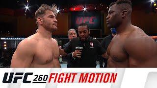 UFC 260: Fight Motion