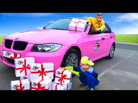 ПРОВОКАЦИЯ...BMW -  быстрее ВЕТРА!Подарки YouBox CЮРПРИЗ-БОКС!This is a provocation.From whom gifts?