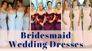 Bridesmaid Dresses - 300+ Wedding Bridal Bridesmaids Gowns Compilation Color Ideas