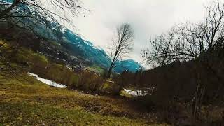 DJI FPV Crash - Hard Drone Crash with Speed