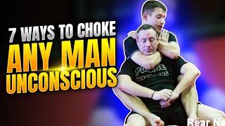 7 Ways To Choke Any Man Unconscious- Indianapolis BJJ Greenwood, Indiana