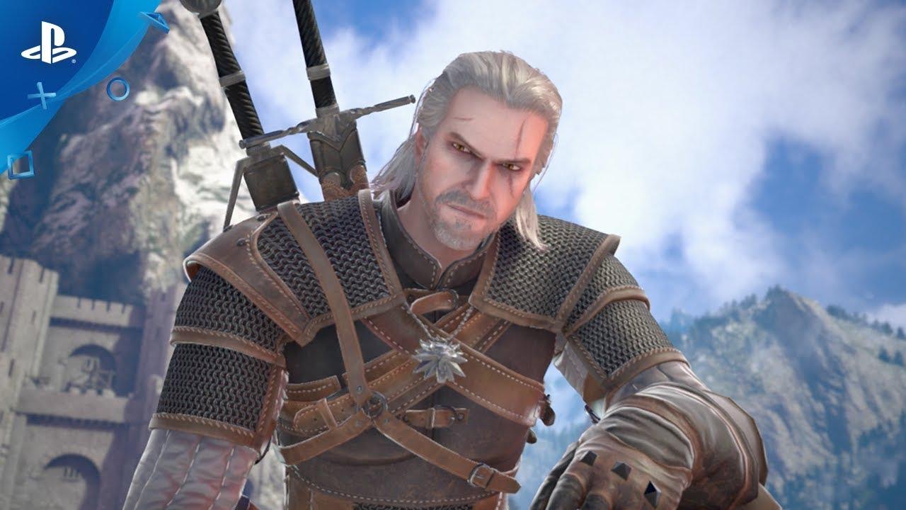 Geralt of Rivia Returns in SoulCalibur VI