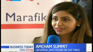 Universal Healthcare on the table during the AMCHAM summit   Business Today