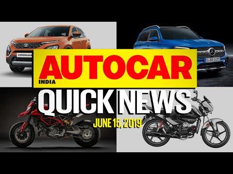 XUV300 AMT Mercedes-Benz GLB Ducati Hypermotard 950 & more   Quick News   Autocar India