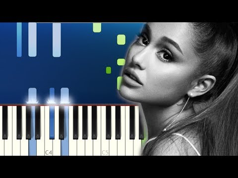 Ariana Grande - ghostin (Piano Tutorial)