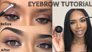 EYEBROW TUTORIAL For Beginners | ABH Dipbrow Pomade