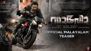 Saaho - Official Malayalam Teaser Trailer