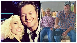 Blake Shelton And Kingston Rossdale (Gwens Oldest Son) Share A Close Relationship