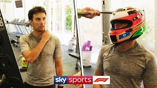 In the gym with an F1 driver | At home with Sergio Perez