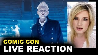 The Crimes of Grindelwald Comic Con Trailer REACTION