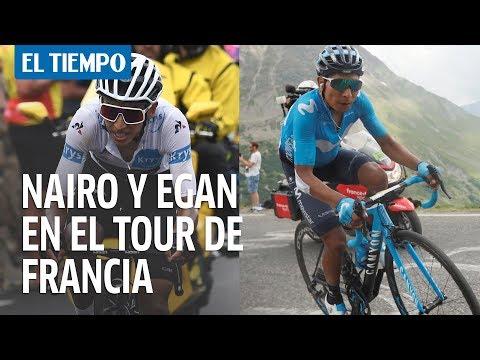 Nairo ganó la etapa 18 del Tour y Egan Bernal es segundo en la general | EL TIEMPO