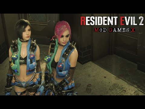 Resident Evil 2 RE Mod - Claire Punk Girl
