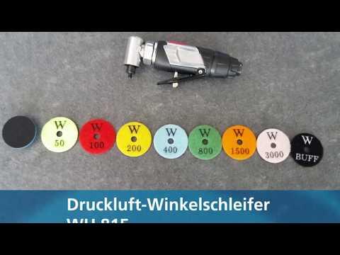 Druckluft Winkelschleifer WH 815