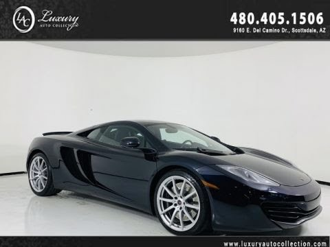 Pre-Owned 2012 McLaren MP4-12C Coupe