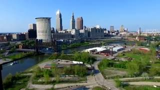 Drone Footage of Cleveland Ohio