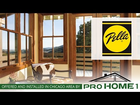 Pro Home 1 proudly offers Pella products to our customers.  Pella windows in wood , aluminum clad wood, fiberglass and vinyl have been designed for one purpose - to offer homeowners more beauty, performance, and value than any other window.