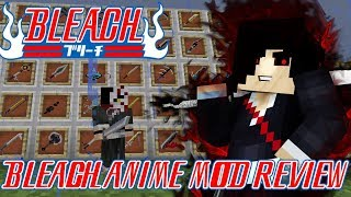 NEW UPDATE! SHIKAI, HOLLOW DIMENSION, SHINIGAMI & MORE!  || Minecraft Bleach Anime Mod Review