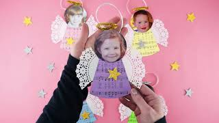 How To Make DIY Angel Ornaments