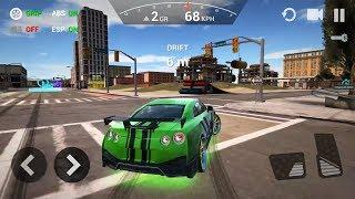 Car Driving Simulator 3D - Nissan GTR New Car Unlocked Android GamePlay