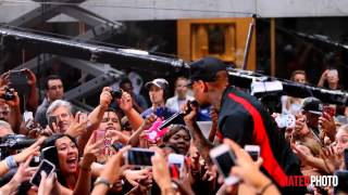 "Chris Brown ""Beat It"" Live on The Today Show"