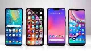 Huawei Mate 20 Pro vs Apple iPhone Xs Max vs Google Pixel 3 XL vs P20 Pro: Benchmark | SwagTab