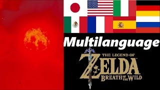 Blood Moon Multilanguage | Zelda Breath of the Wild