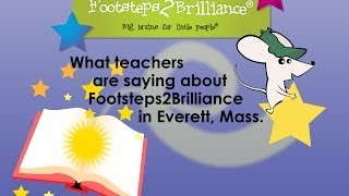 EVERETT PUBLIC SCHOOL SYSTEM TEACHERS SHARE THE VALUES OF THE FOOTSTEPS2BRILLIANCE LITERACY PROGRAM!