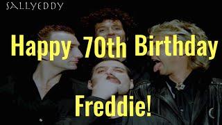 Sally Eddy|| Freddie Mercury 70th Birthday Video|| My Favourite Moments