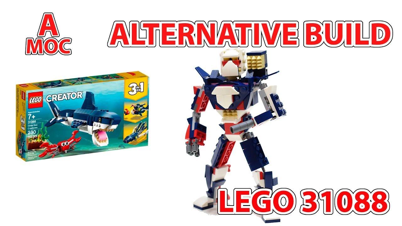 Guardian Mech. LEGO 31088 alternative build [A MOC]