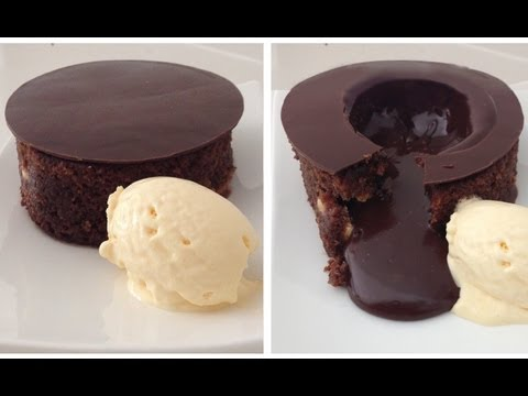 Magic Chocolate Lava Cake Dessert Recipe HOW TO COOK THAT chocolate fondant Ann Reardon