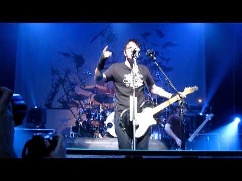"""Burn"" in HD - Three Days Grace 4/13/11 Baltimore, MD"