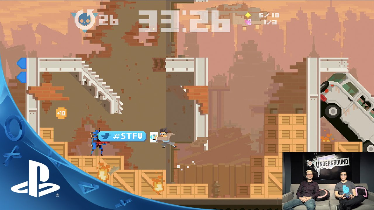PlayStation Underground: Super Time Force Ultra