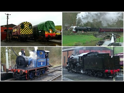 The Churnet Valley Winter Steam Gala 25th February 2017