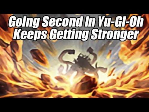Going Second Yu-Gi-Oh Decks Keep Getting Stronger!?