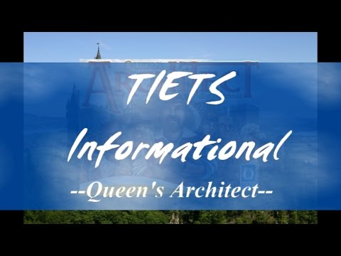 Queen's Architect - Review/Walk-Thru - TIETS Informational - TI #34