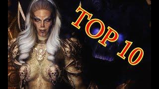 Top 10 Female Villains in Skyrim!