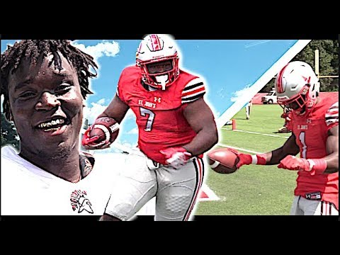 280 Pound RB Goes Crazy ! St John's (Washington, DC) v Southridge (Miami, FL) 🔥🔥
