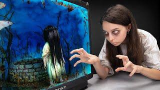 Девушка из фильма ужасов