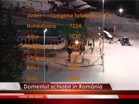 Domeniul schiabil în România