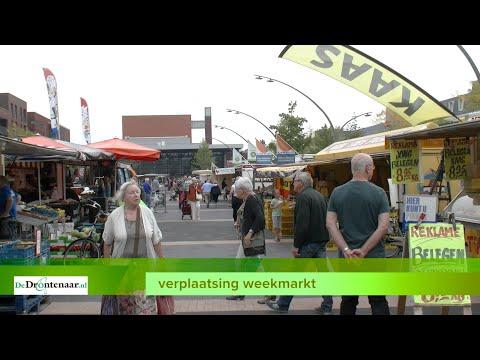 Ondanks alle tegenwind houdt wethouder Korting vast aan verhuizing weekmarkt