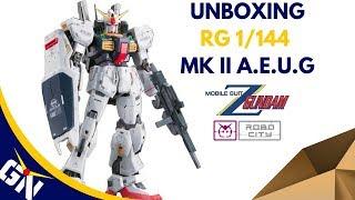 Unboxing: RG 1/144 MK II A.E.U.G